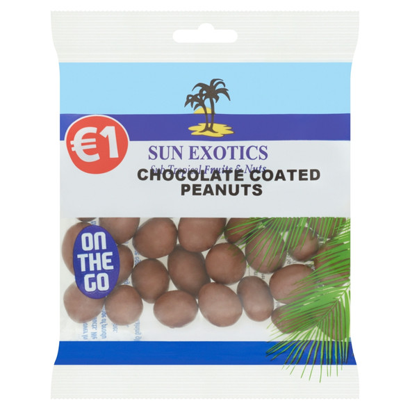 Chocolate Peanuts in Handy Size Bag