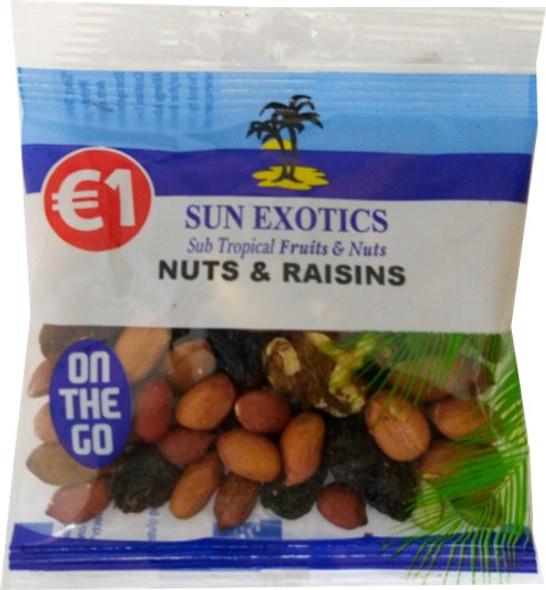 Nuts & Raisins in Handy Size Bag