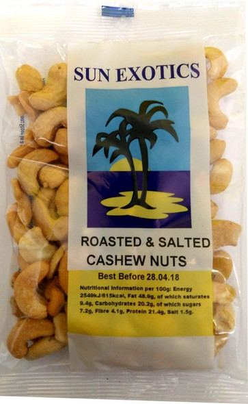 Roasted and Salted Cashew Nuts