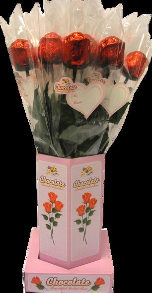 Milk Chocolate Rose Stand