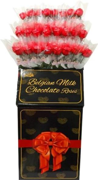 96 x 18g Milk Chocolate Rose Stand €2.00