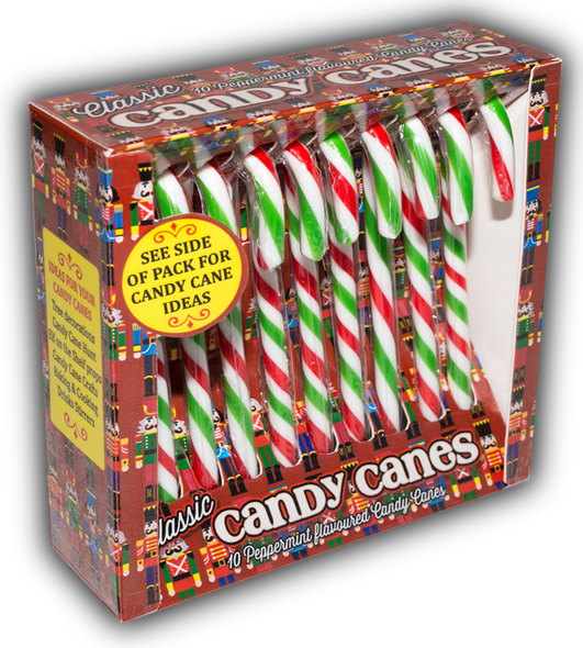 Peppermint Flavoured Candy Canes