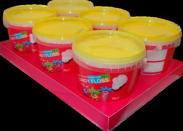 12 x Candy Floss 50g