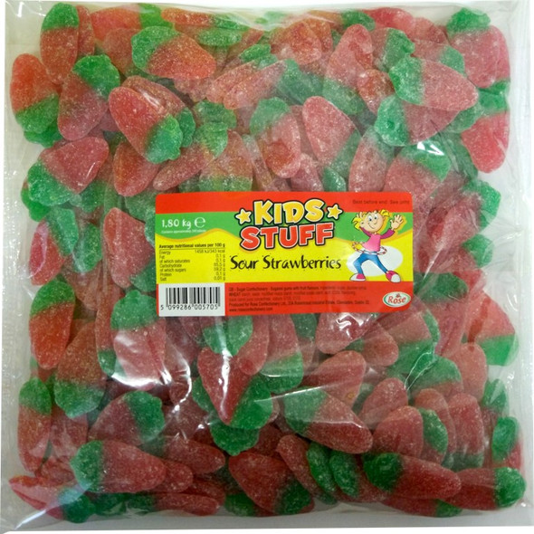 Sour Strawberry Gummies