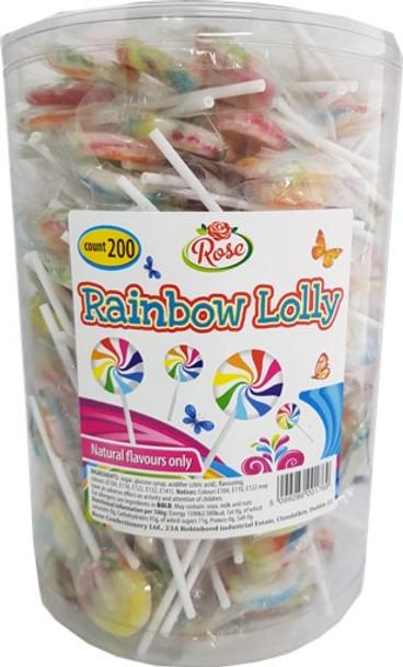 200 x 5c Rainbow Lolly