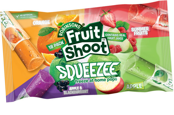 15 x 18pk Fruit Shoot Squeezee 30ml