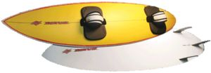 Example of a Directional kiteboard