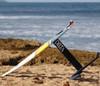 Delta hydrofoil surfboard
