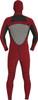 2017 Xcel Drylock 5/4 Hooded Fullsuit - Inside Back