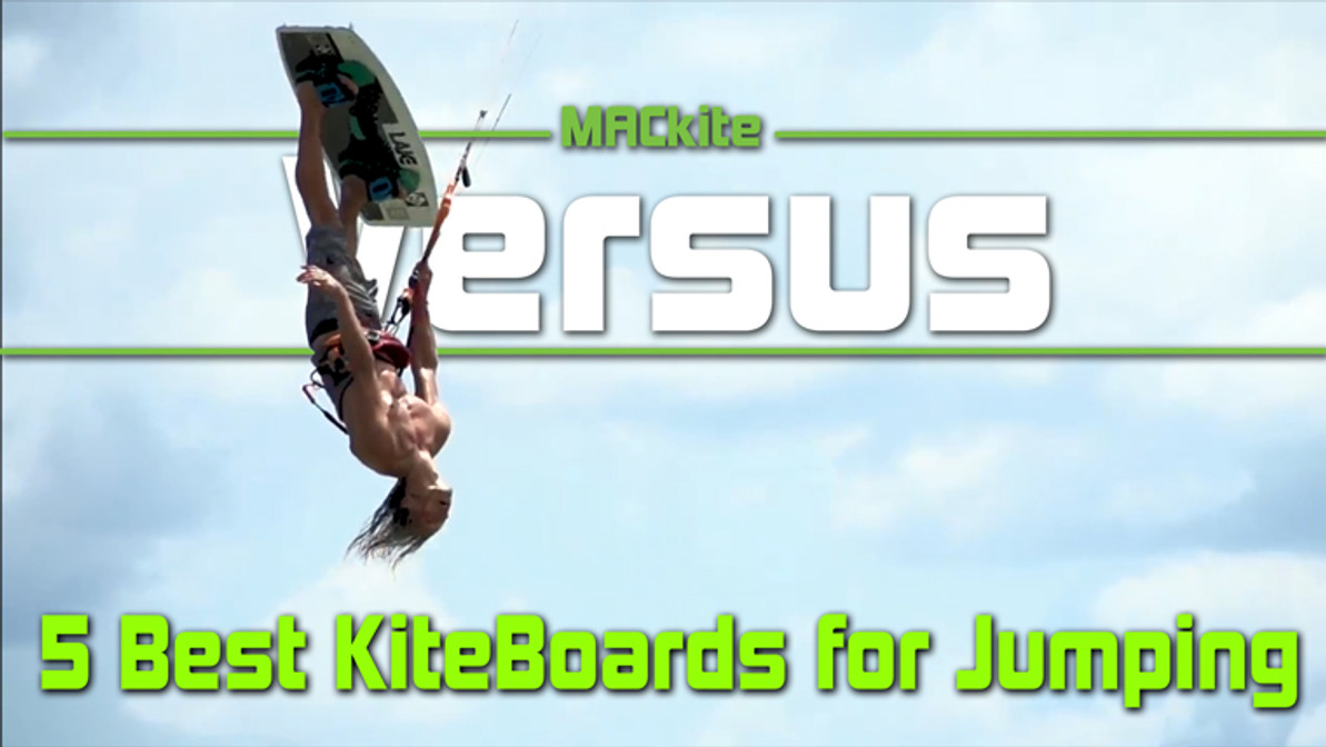 The 5 Best Kiteboards for Jumping and Big Air