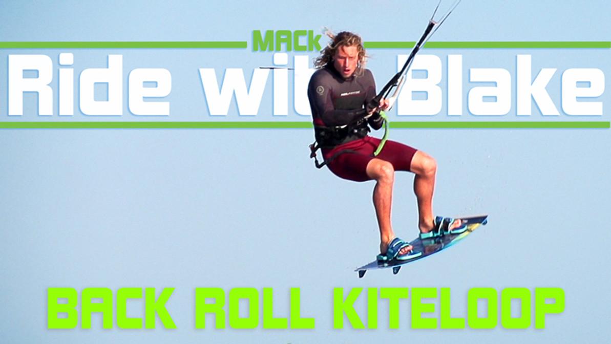 Kiteloop Back Roll - Ride with Blake