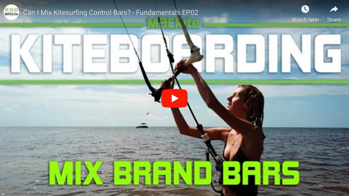 Can I Mix Kiteboarding / Kitesurfing Control Bars