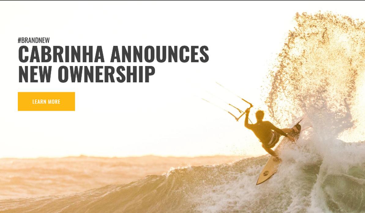 Press Release: Cabrinha Announces New Ownership
