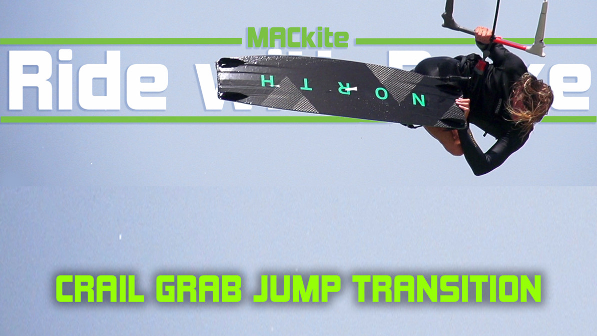 Kiteboarding Transitions: Sent Crail Grab