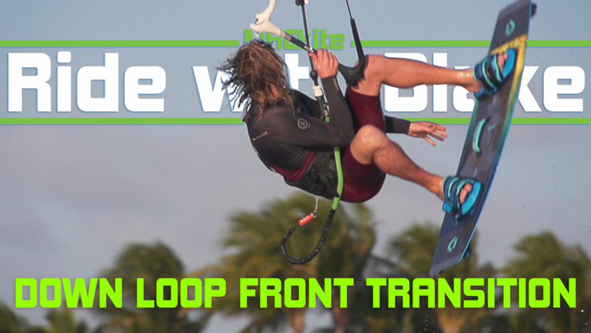 Down Loop Front Roll Transition - Ride with Blake