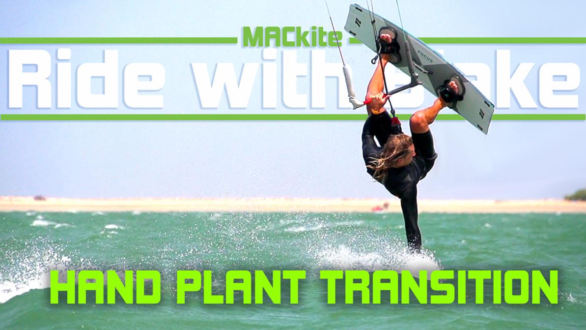 Kiteboarding: Handplant Transition