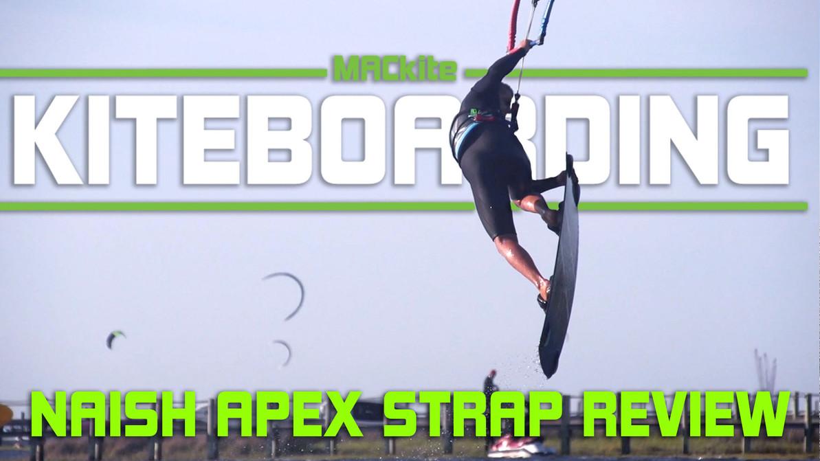 Naish Apex Kiteboarding Footstraps Review with Ewan Jaspan