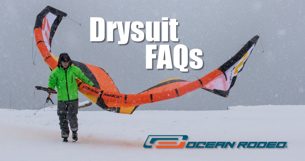 Drysuit Maintenance FAQs