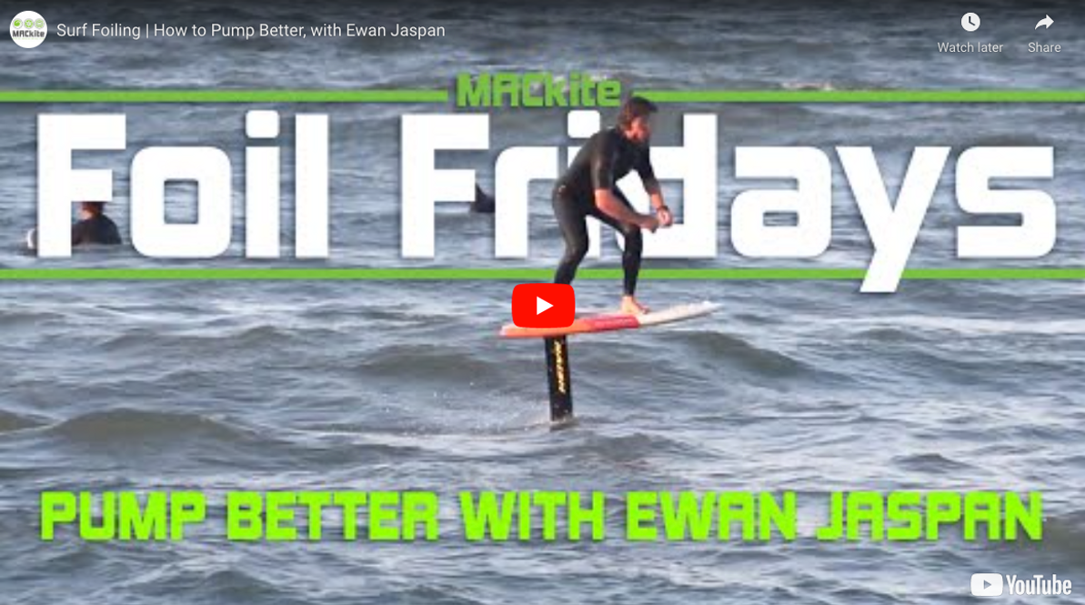 How to Pump Better Hydrofoiling