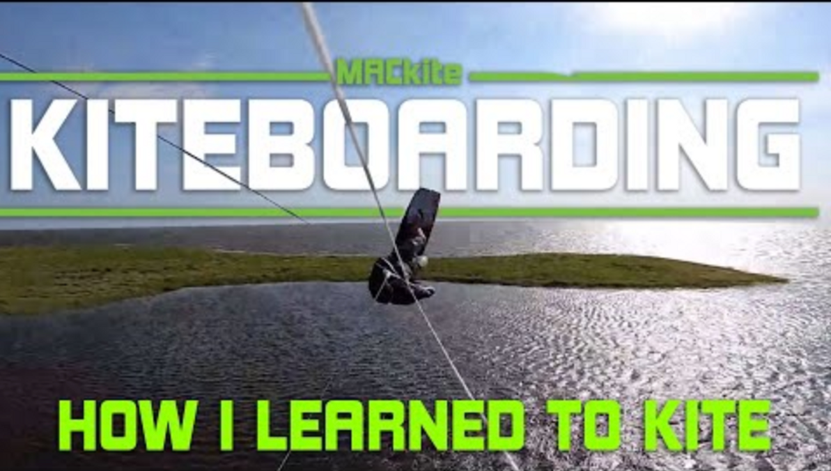 How I Learned to Kiteboard - Rider Profile: Evan Netsch