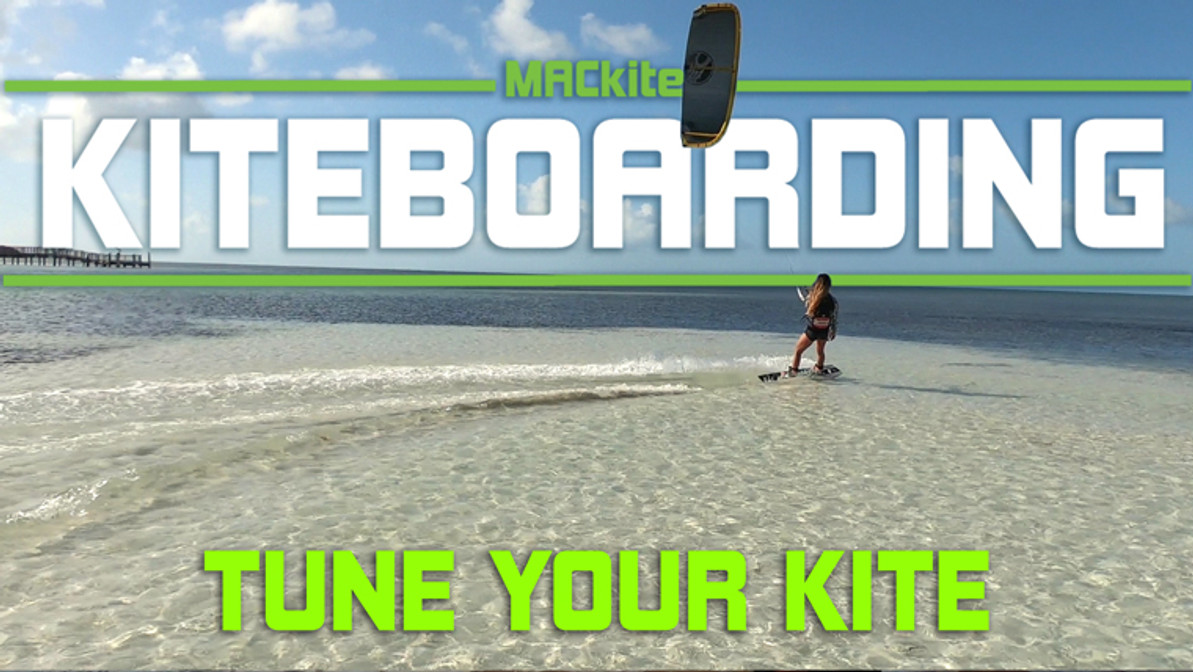 Kiteboarding Control Bar Size & tuning your kite