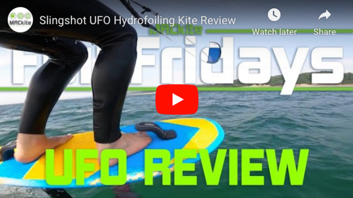 Slingshot UFO Hydrofoiling Kite Review
