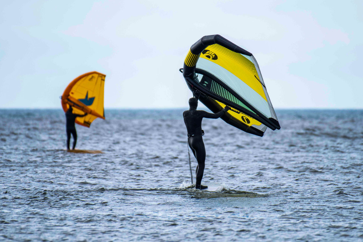 Wing Foiling Will Make You a Better Person