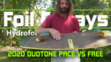 Duotone Pace VS Free:  Hydrofoilfoil Board Comparison - Foil Fridays