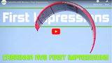 First look and review - Cabrinha AV8 Freeride Kiteboarding kite