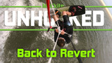 Back Roll  to Toeside kiteboarding (Back to Revert) Unhooked kiteboarding