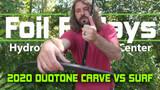 Duotone Spirit Surf and Carve Hydrofoil Comparison - Foil Fridays