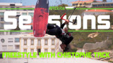 Freestyle kiteboarding with Christophe Tack - Sessions with Rygo EP 10