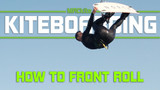 How to Master the Kiteboarding Front Roll Tail Grab