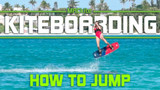 How to Jump kitesurfing  Ride with Blake