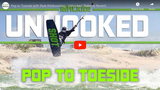 Pop to Toeside / Air Krypt Kiteboarding