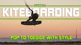 Kitesurfing Toeside Transition with Style