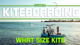 How to choose your first kiteboarding kite size (Kiteboarding Size Chart Included)