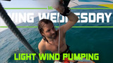 Wingsurfing Light Wind Pumping Techniques