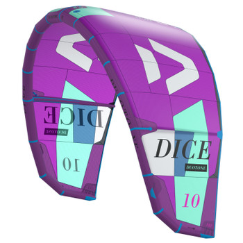 2021 Duotone Dice Kiteboarding Kite - Purple