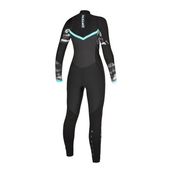 Mystic Diva 5/3 Full Double FZ Women's Wetsuit - Back