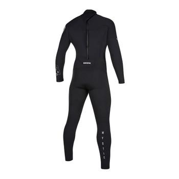 2019 Mystic Star 4/3 Full BZ Wetsuit - Black - Back