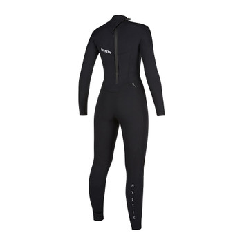 2019 Women's Mystic Star 5/3 BZ Wetsuit - Black - Back
