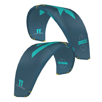 2021 F-one Breeze V.3 Kiteboard Kite - Blue Lagoon