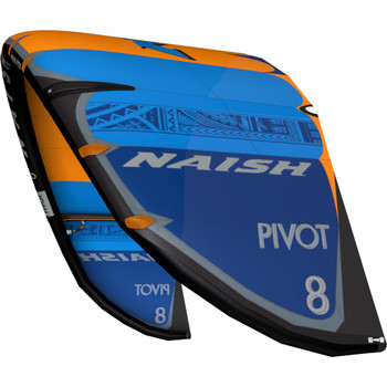 S25 Naish Pivot Kiteboarding Kite - Deep Blue/Blue/Orange