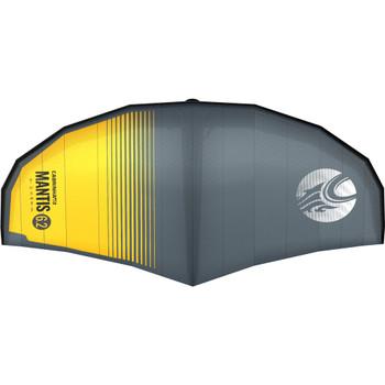 :01 Cabrinha Mantis Crossover Wing - Black/Yellow