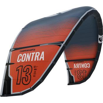 :01 Cabrinha Contra 3S Kiteboarding Kite - Orange/Black