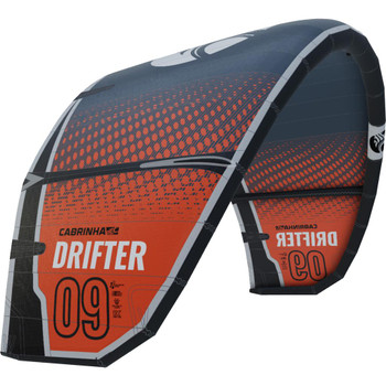 :01 Cabrinha Drifter Kiteboarding Kite - Orange/Black