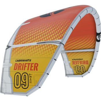 :01 Cabrinha Drifter Kiteboarding Kite - Yellow/Orange