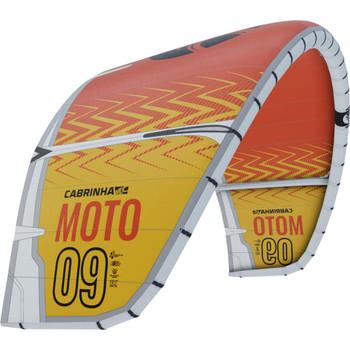 :01 Cabrinha Moto Kiteboarding Kite - Yellow/Orange