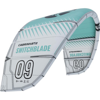 :01 Cabrinha Switchblade Kiteboarding Kite - Mint/White